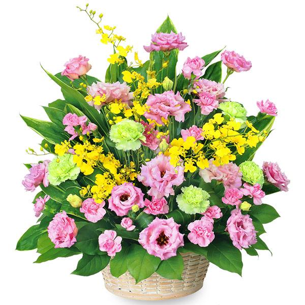 【誕生日フラワーギフト・トルコキキョウ】トルコキキョウの華やかアレンジメント