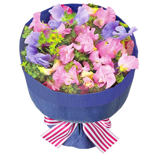 【予算で選ぶ  3000円から】スイートピーの花キューピットブーケ