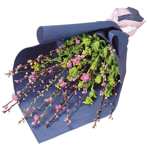 【ひな祭り】桃の花の花束