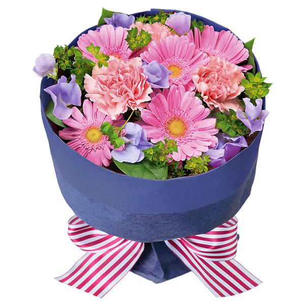 【3月の誕生花(ピンクガーベラ等)】ピンクガーベラとスイートピーのブーケ