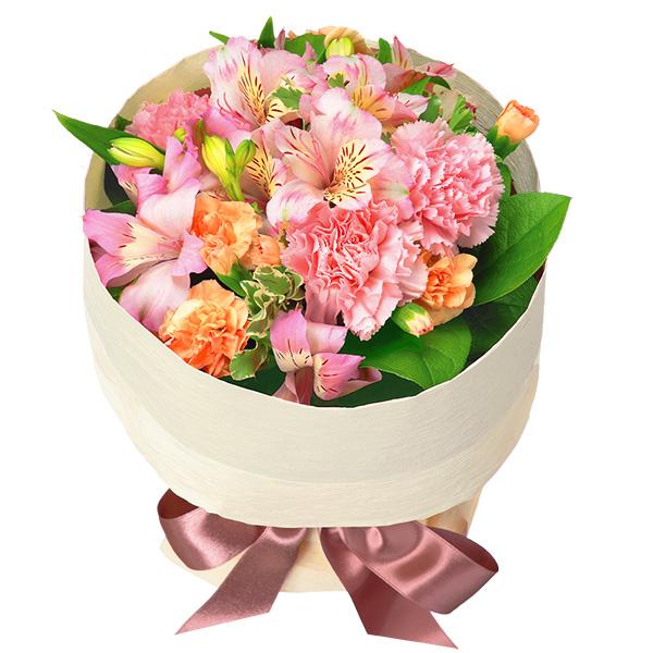 【4月の誕生花(アルストロメリア等)】アルストロメリアのピンクブーケ