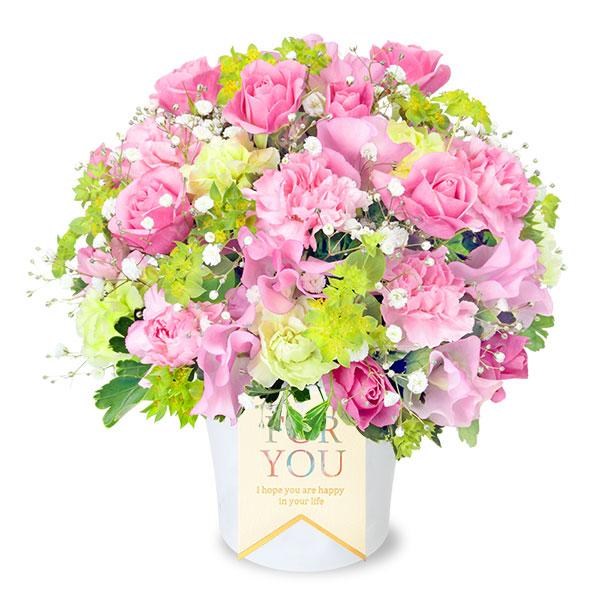 【春の誕生日】スイートピーのふんわりアレンジメント 512149 |花キューピットの2020春の誕生日特集