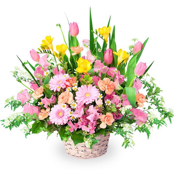 【2月の誕生花(チューリップ等)】春の花のミックスアレンジメント