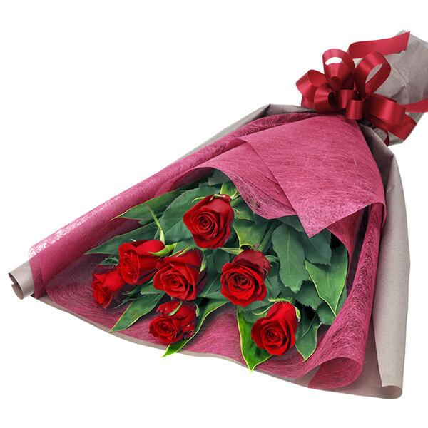 【12月の誕生花(赤バラ等)】赤バラの花束