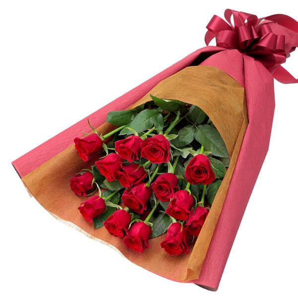 【クリスマスフラワー ランキング】赤バラの花束