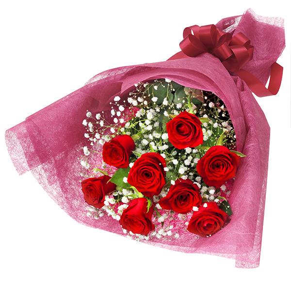 【ホワイトデー】赤バラの花束 512194 |花キューピットのホワイトデー
