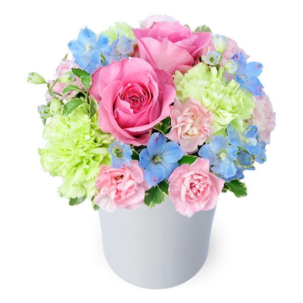 【5月の誕生花(ピンクバラ等)】ピンクバラのパステルアレンジメント