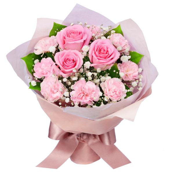 【予算で選ぶ  3000円から】ピンクバラの花束