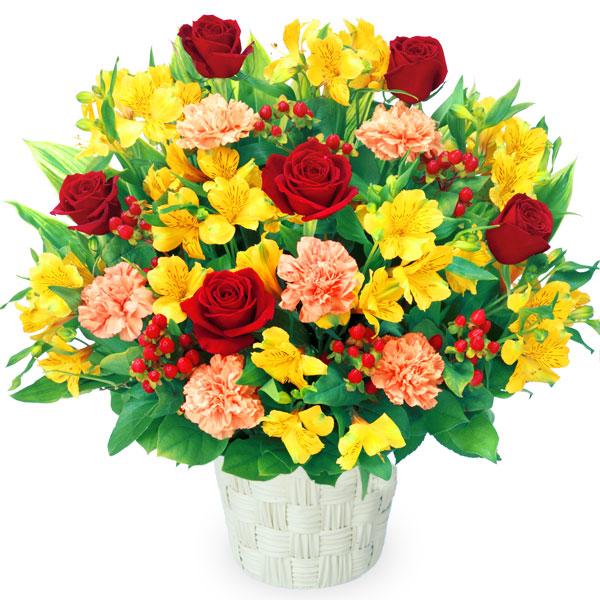 【4月の誕生花(アルストロメリア等)】アルストロメリアの豪華なアレンジメント
