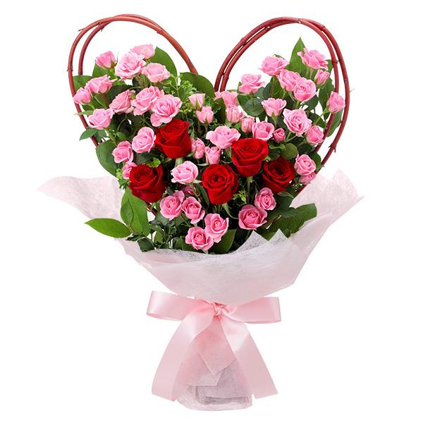 【いい夫婦の日】ハートの花束 512220 |花キューピットのいい夫婦の日特集