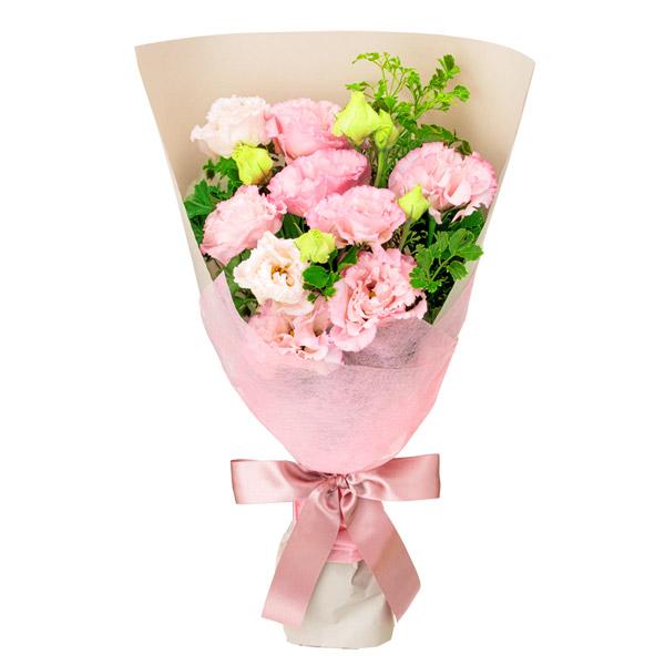 【8月の誕生花(トルコキキョウ等)】トルコキキョウの花束