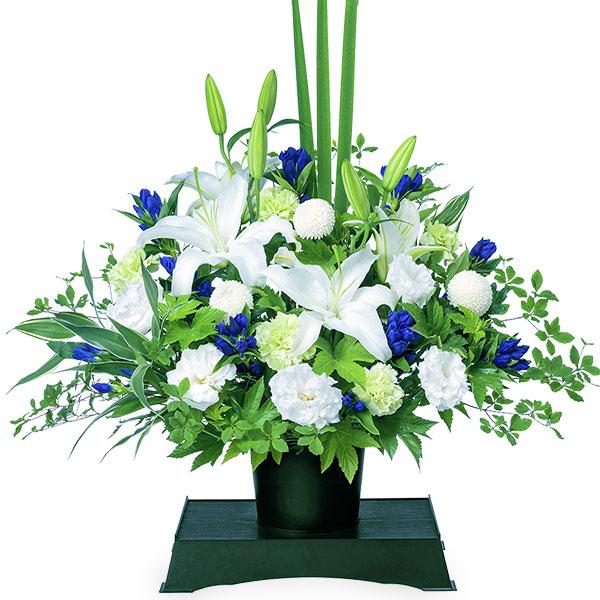 【お盆・新盆】お供えのアレンジメント(供花台付き) 512252 |花キューピットのお盆・新盆特集2020