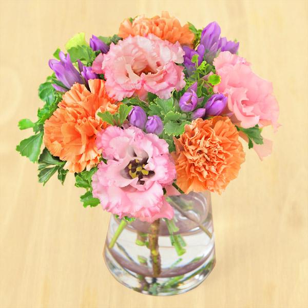 【敬老の日】秋色のグラスブーケ 512258 |花キューピットの敬老の日プレゼント特集2020