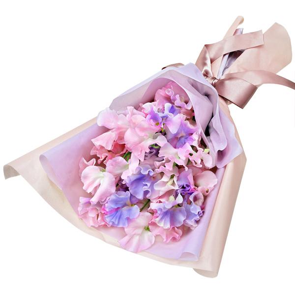 【1月の誕生花(スイートピー等)】スイートピーの花束