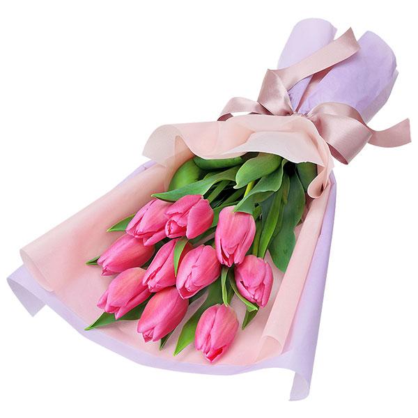 【2月の誕生花(チューリップ等)】チューリップの花束