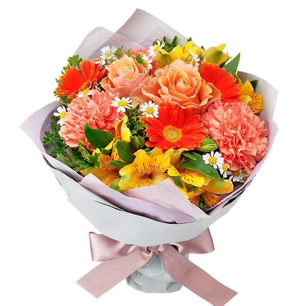 【4月の誕生花(アルストロメリア)】イエロー&オレンジのブーケ