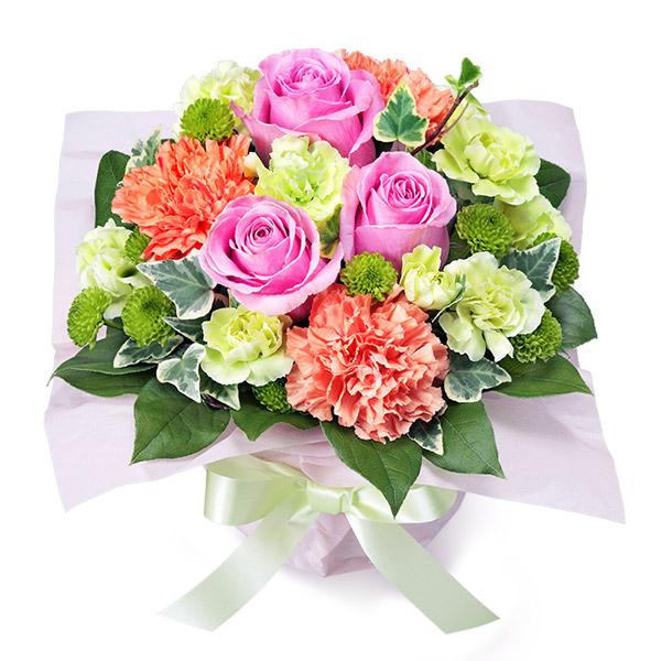 花キューピットの5月の誕生花・ピンクバラ