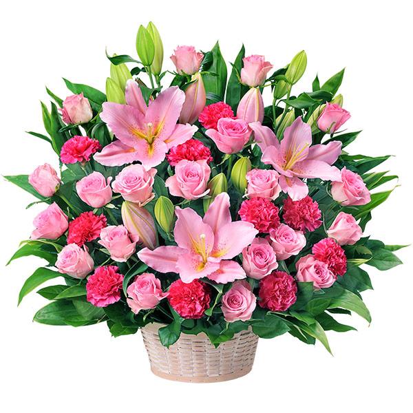 【開店祝い・開業祝い】ピンクの豪華なアレンジメント