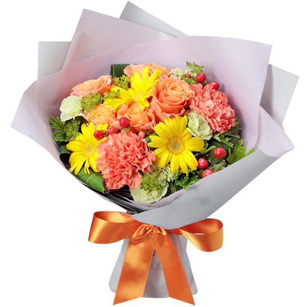 【開店祝い・開業祝い】イエロー&オレンジの花束