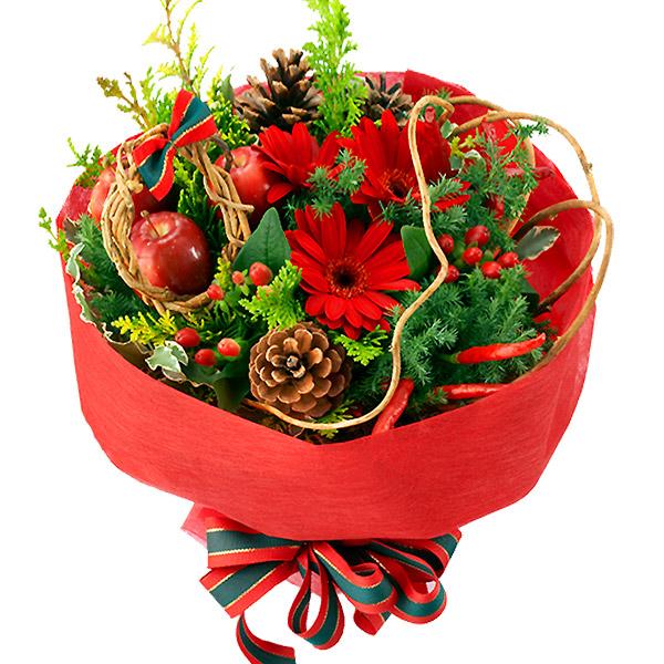 【クリスマス特集】赤のブーケ