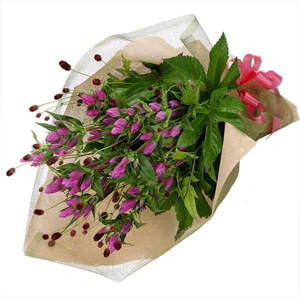 【ご退職祝い(法人)】ピンクリンドウ花束