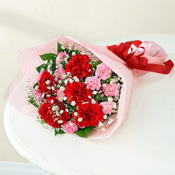 【母の日】カーネーションの花束 521269 |花キューピットの母の日プレゼント特集2020