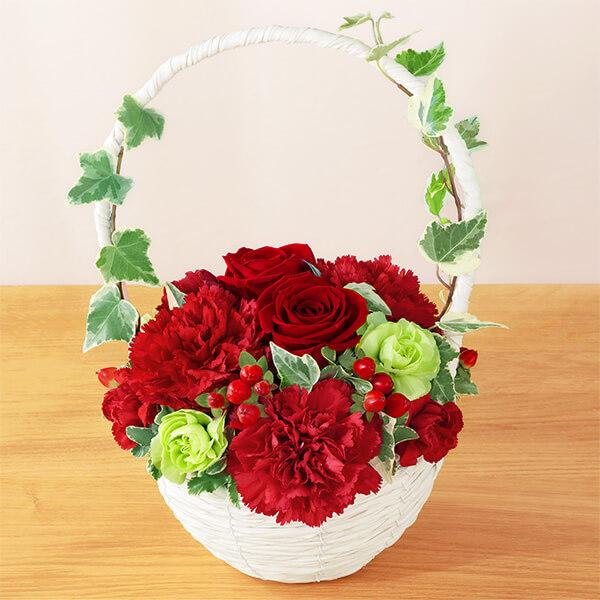 【母の日】リスペクト(レッド) 521284 |花キューピットの母の日プレゼント特集2020