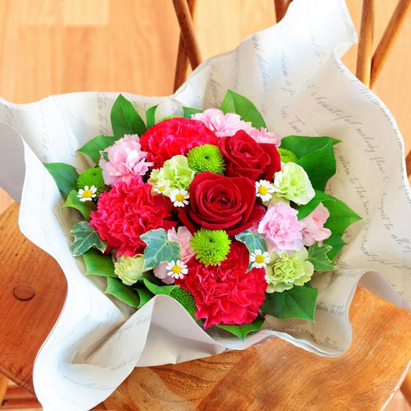 【母の日】お花いっぱいアレンジメント 521285 |花キューピットの2019母の日プレゼント特集