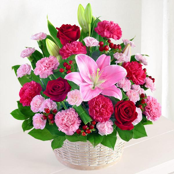 【母の日】幸せたっぷりアレンジメント 521290 |花キューピットの母の日プレゼント特集2020