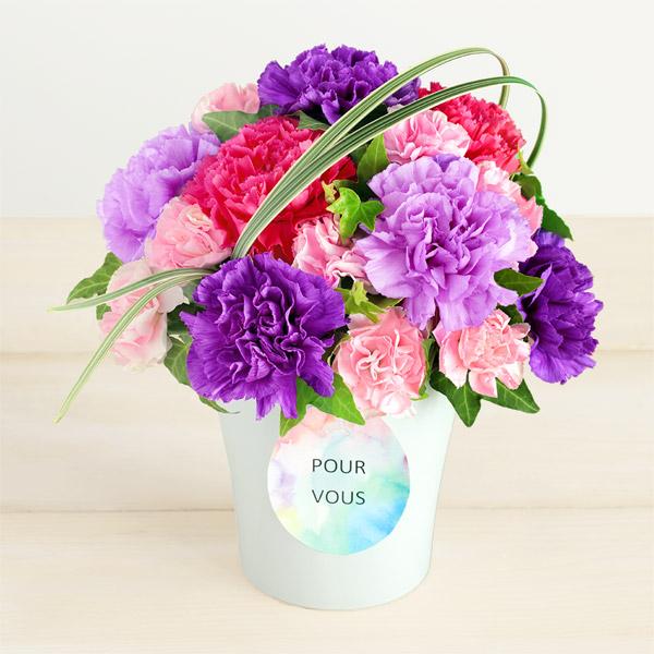 【母の日】グラマラス(ムーンダスト) 521306 |花キューピットの母の日プレゼント特集2020