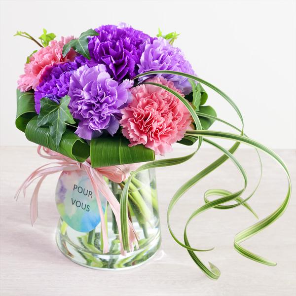 【母の日】グラスブーケ(ムーンダスト) 521312 |花キューピットの母の日プレゼント特集2020