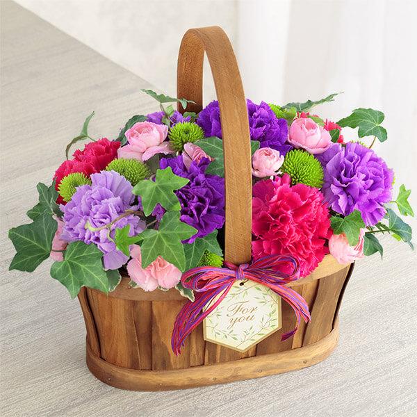【母の日】ハッピー(ムーンダスト)) 521316 |花キューピットの母の日プレゼント特集2021