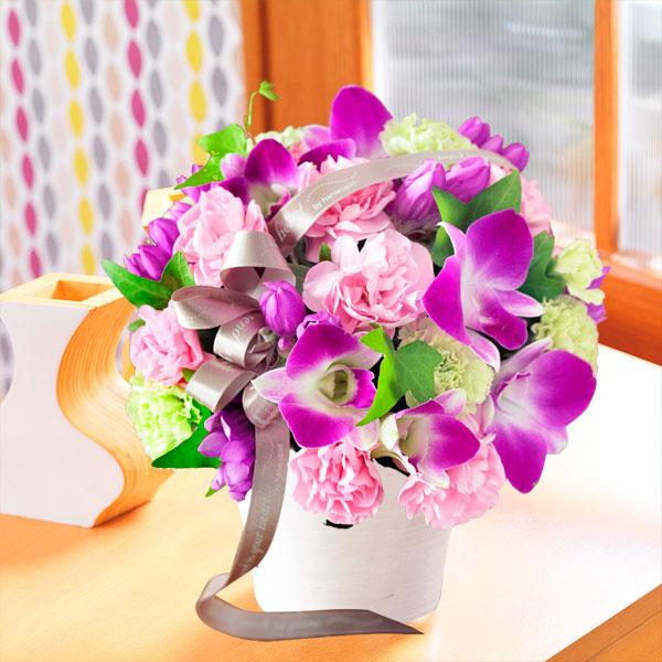 【敬老の日】秋色のアレンジメント 522079 |花キューピットの敬老の日プレゼント特集2019