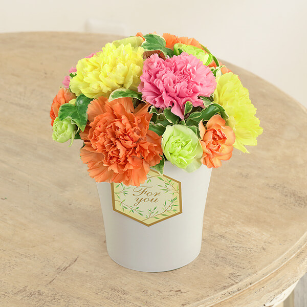 【母の日】グラマラス(カラフル) 613258 |花キューピットの2019母の日プレゼント特集