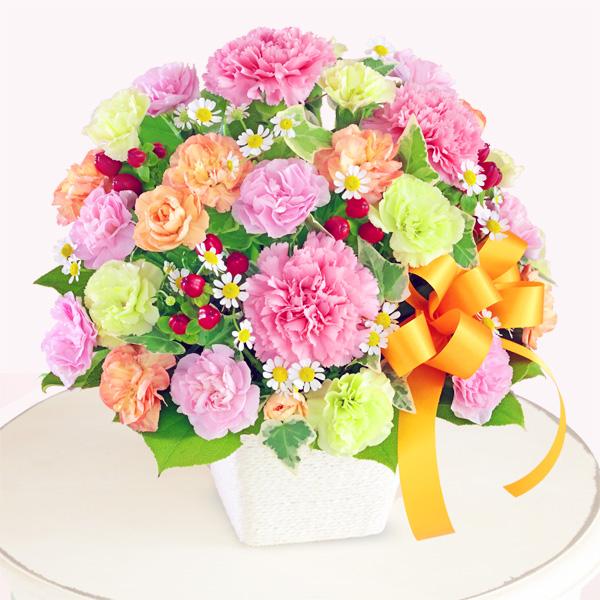 【母の日】カーネーションのミックスアレンジメント 613259 |花キューピットの2019母の日プレゼント特集
