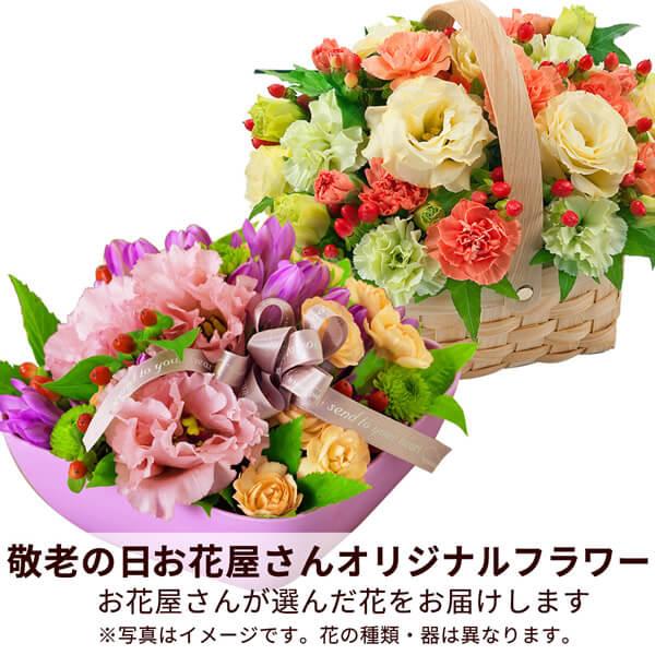 【おすすめ】アレンジ mmap003 |花キューピットの敬老の日プレゼント特集2019