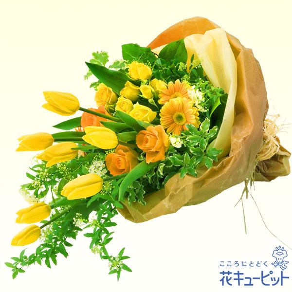 【誕生花 2月(チューリップ等)(法人)】チューリップの花束