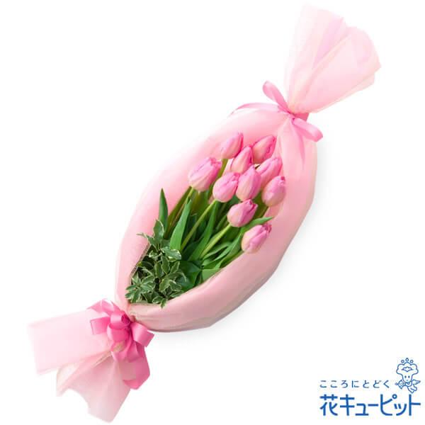 【お祝い】キャンディーブーケ(ピンク)人気商品!ピンクチューリップのキャンディーブーケ♪