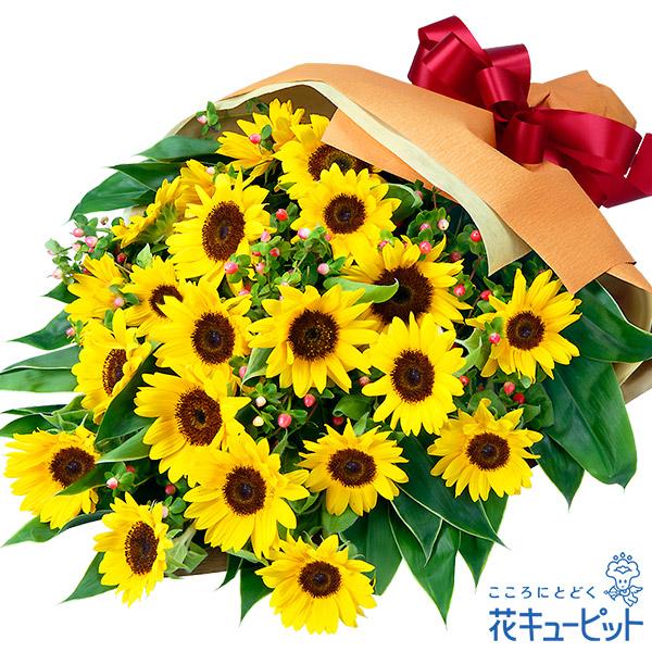 【ひまわり特集】ひまわりの花束ひまわりが主役!ボリューム満点の花束