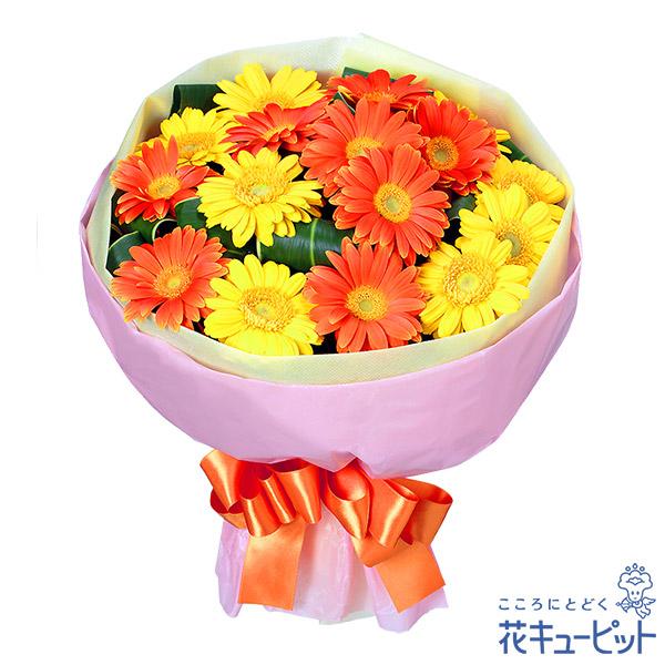 【お祝い】ガーベラブーケビタミンカラーのお花を集めたブーケ