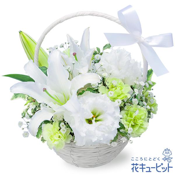 【お供え・お悔やみの献花】お供えのアレンジメント堅苦しくなりすぎない柔らかな雰囲気が優しさをお届け