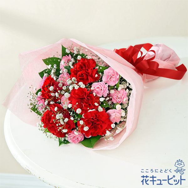 【母の日ギフト】カーネーションの花束母の日にまっすぐな「ありがとう」を贈る