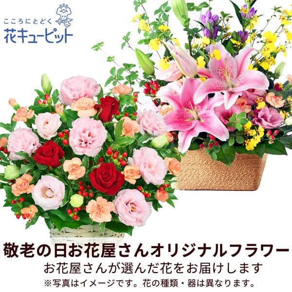【母の日おまかせギフト・遅れてごめんね】【お花屋さんおすすめ】オリジナルアレンジお花のプロが作るおまかせ商品!