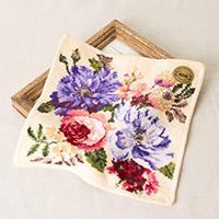 美しい花園のようなハンカチ|敬老の日プレゼント特集2019