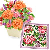敬老の日 お花と雑貨のセット|敬老の日プレゼント特集2020