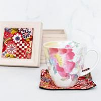 シャクヤクの花のマグカップ|敬老の日プレゼント特集2019