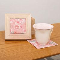 花の形が浮かぶマグカップ|敬老の日プレゼント特集2020
