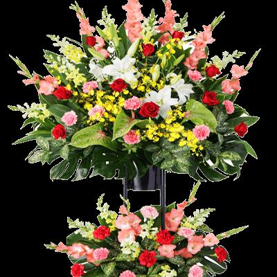 開店・開業祝い スタンド花