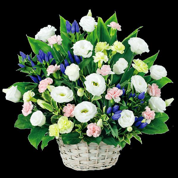 花キューピットのお盆