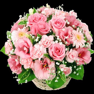 【結婚記念日】ピンクアレンジメント